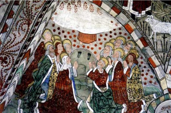 Målningarna i Dannemora kyrka